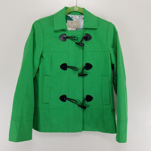 Banana Republic Pea Coat XS Green